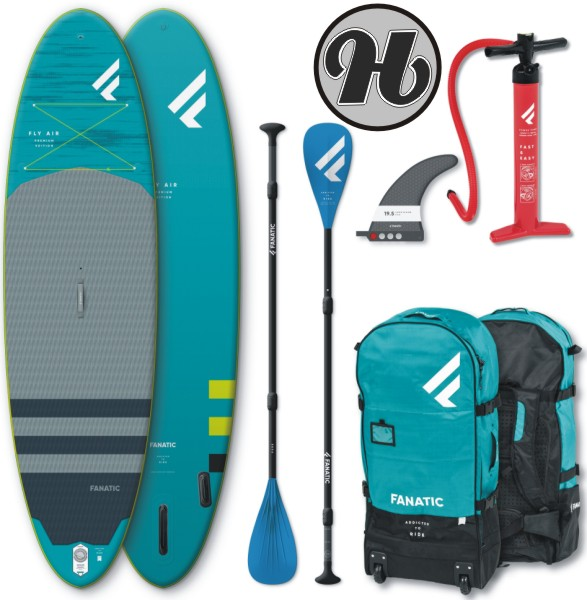 Fanatic FLY AIR Premium SUP Set 2020 inkl. Paddle