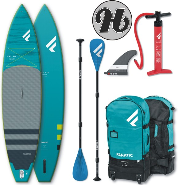 Fanatic RAY AIR Premium SUP Set 2020 inkl. Paddle