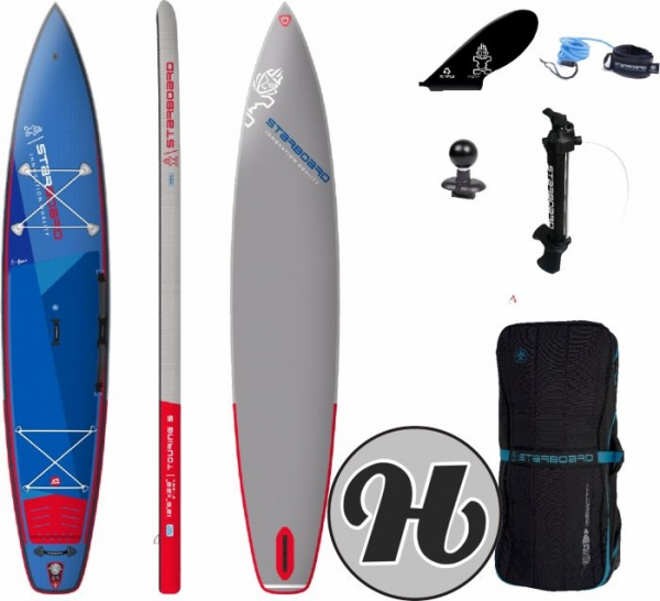 STARBOARD INFLATABLE SUP Touring Deluxe Single Chamber 12,6x28x6 2021