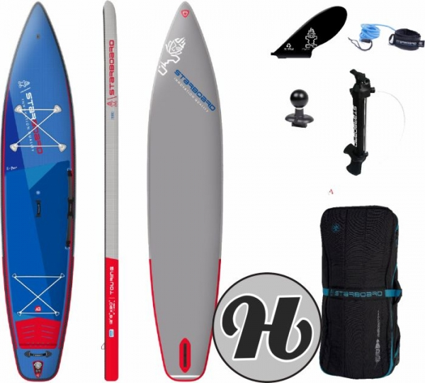 STARBOARD INFLATABLE SUP Touring Deluxe Single Chamber 12,6 2021
