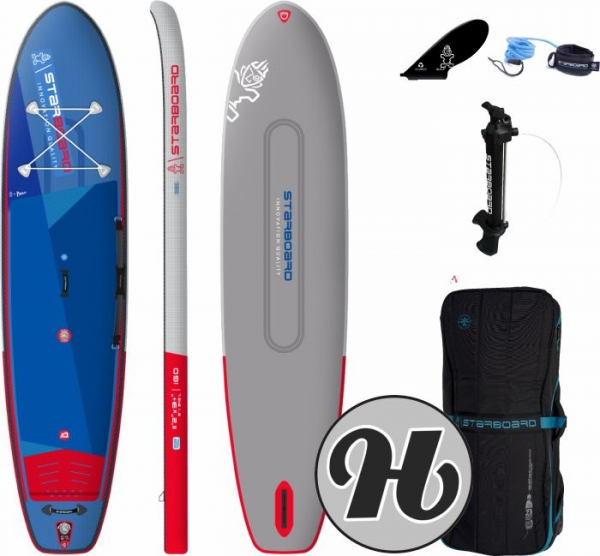 STARBOARD INFLATABLE SUP iGO Deluxe Double Chamber 11,2 2021