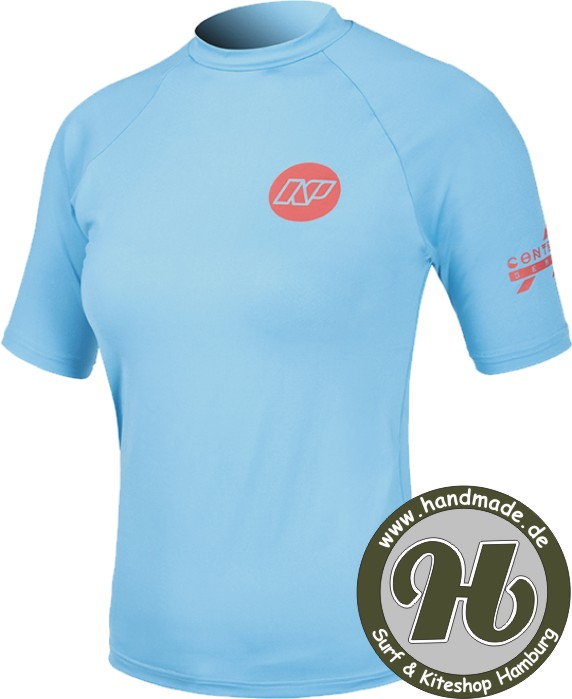 NP Contender Ladies Rash Vest S/S Blue - Limited Deal !