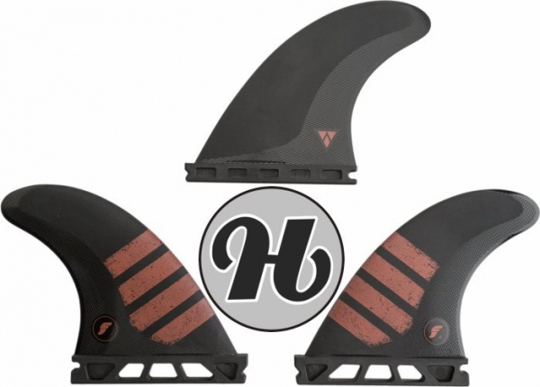 FUTURES Thruster Fin Set F4 Alpha S