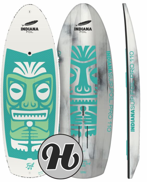 INDIANA 6'3 SUP FOIL 110L CARBON
