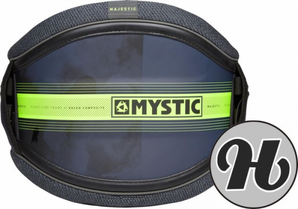Mystic Majestic Navy/Lime waist Harness 2021
