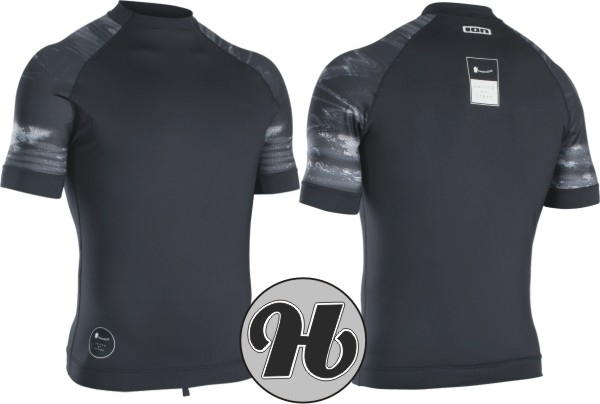 ION Rashguard Men Maze SS Black Capsule 2020