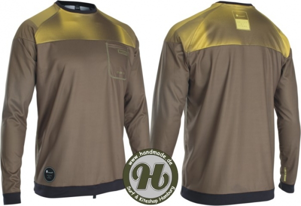 ION Wetshirt Men LS Dark Olive 2020
