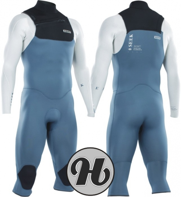 Ion Seek Core Overknee LS 4/3 FZ DL 2021 Steel Blue/White/Black