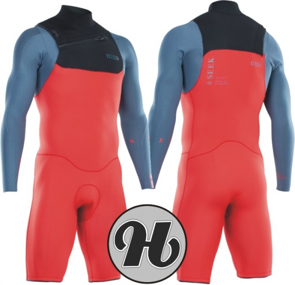 Ion Seek Core Shorty LS 2/2 FZ DL 2021 Red/Steele Blue/Black