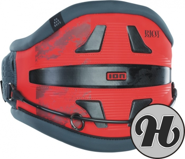 Ion Riot 9 Red 2021 Waist Harness