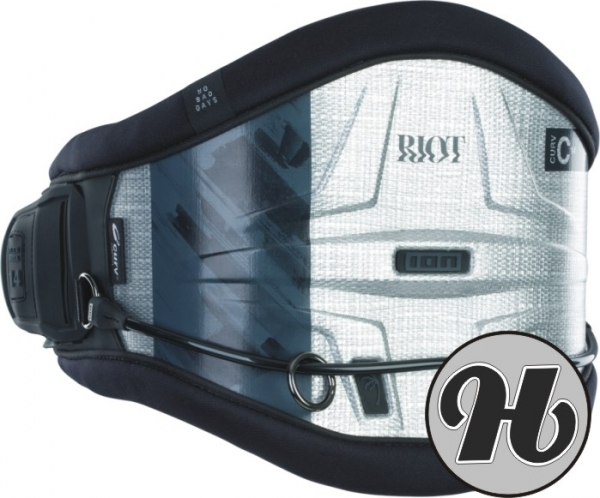 Ion Riot Curv 14 Silver 2021 Waist Harness