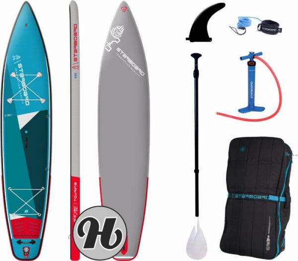 STARBOARD Touring ZEN 12,6 INFLATABLE SUP SET Inkl. 3pcs ABS/Fieberglas Paddel 2021