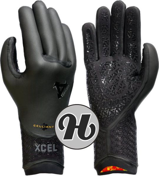 Xcel Drylock 5 Finger Glove 5mm