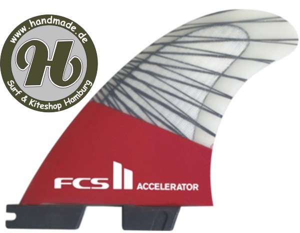 FCS II Accelerator PC Carbon Red Mood Tri Set