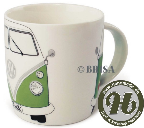 VW Collection T1 BUS KAFFEETASSE 370ml IN GESCHENKBOX - GRÜN