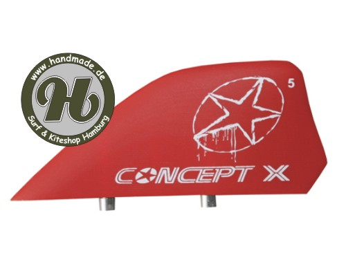 Concept X Kite Fin G-10 red 6cm