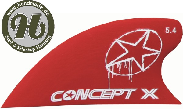 Concept X Kite Fin HC Red 5.4