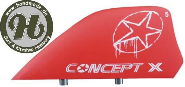 Concept X Fin HC red 5cm