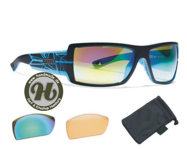 ION Sunglasses Icon Set Zeiss Black / Trans Blue