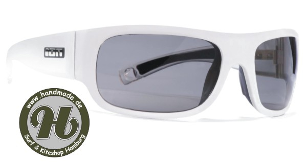 ION Lace Polarized Kite Brille Solid White - Limited Deal !