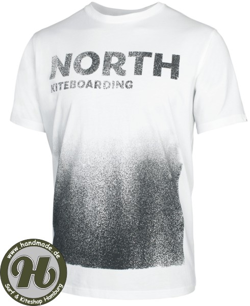 North Tee SS Handmade White - Limited Deal !