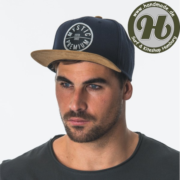 Mystic The Van Cap Dark Blue