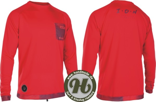 Ion Wetshirt Men L/S Red 2019